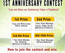 1st Anniversary Contest!